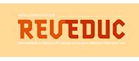 Logo da Revista Eletrônica de Educação, Reveduc, com link para o site